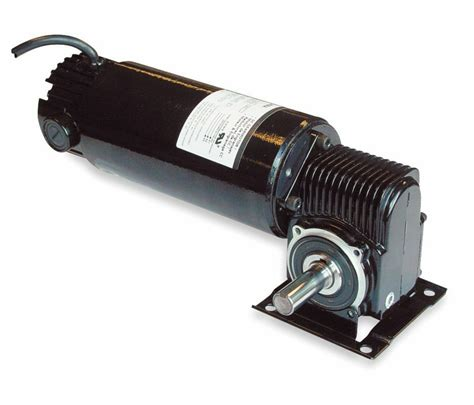 Gear Motor by Dayton Model 3xa78 Dc Gear Motor 180 Rpm 1 8 Hp Tenv 90vdc