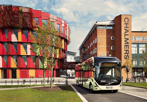 electric bus route  launched  gothenburg sweden
