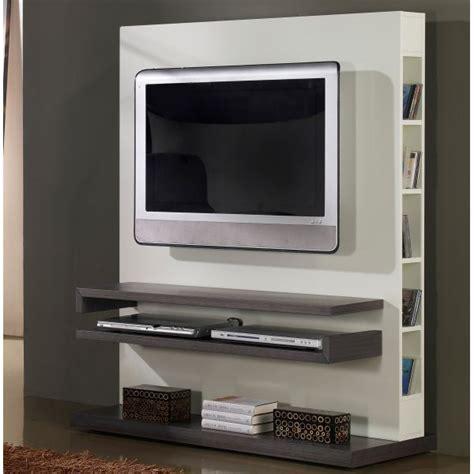 cuisine encastrable but meuble tv design gris et blanc laqué deco et saveurs