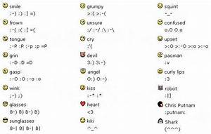Smiley Face Emoticons Text   www.imgkid.com - The Image ...
