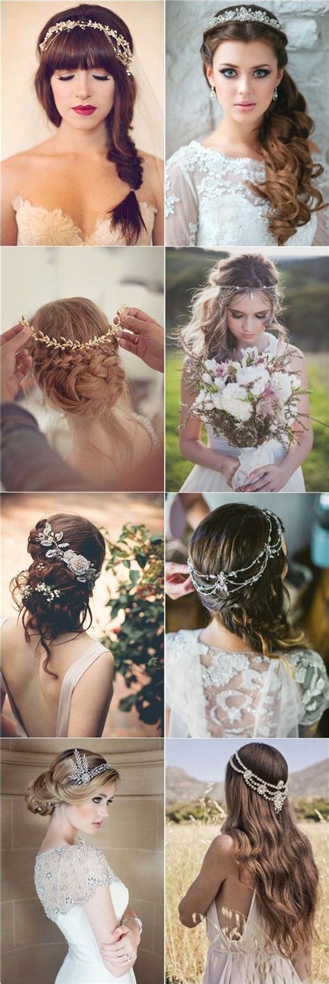 20 Fabulous Bridal Hairstyles for Long Hair Trubridal