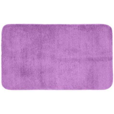 Garland Rug Glamor Purple 30 In X 50 In Washable