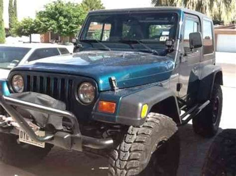blue green jeep jeep wrangler 1998 blue green pro compafter market