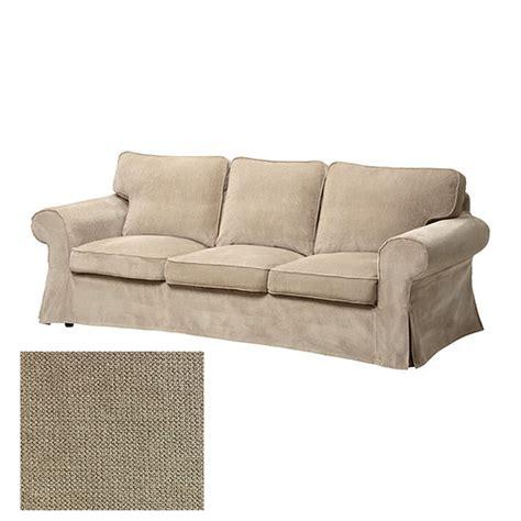 3 Seat Sofa Cover by Ikea Ektorp 3 Seat Sofa Slipcover Cover Vellinge Beige