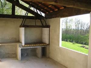 creation de la cuisine d39ete et du barbecue With construire une hotte de cuisine