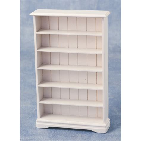 6 Shelf Bookcase by Streets Ahead 6 Shelf Bookcase White