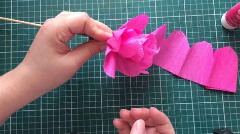 flor de papel crepom facil    images crepe