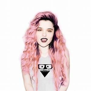 Pastel pink and deep purple grunge hair. So pretty! | make ...