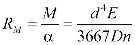 federrate berechnen bei zylindrischen federn gutekunst