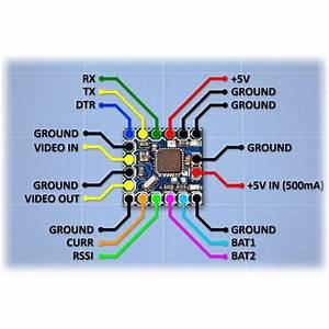 Mini Osd Rc Multirotor Fpv Drone Parts Rjx Q3102 Aircraft