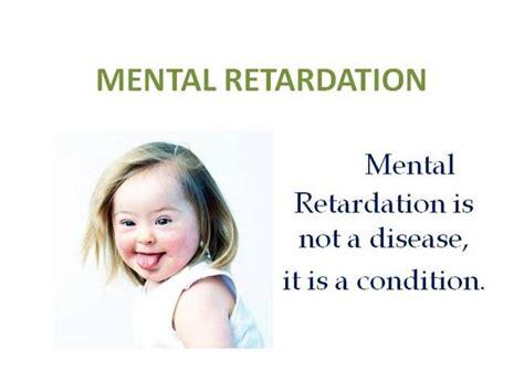 mental retardation types  symptoms  treatment