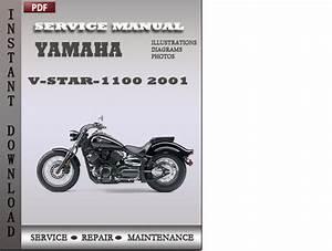Yamaha V-star-1100 2001 Factory Service Repair Manual Download