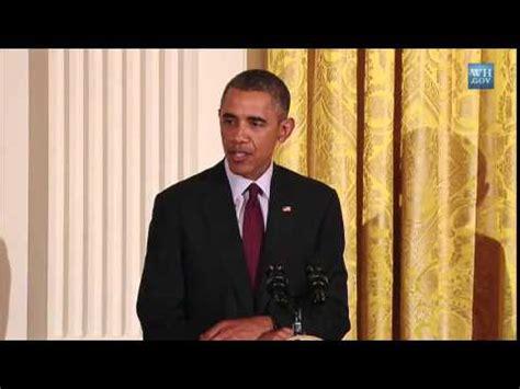 President Obama Praises Somali Student Munira Youtube