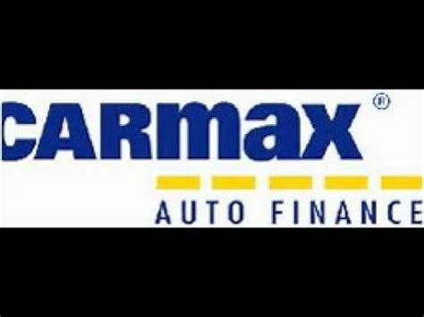 carmax auto finance youtube