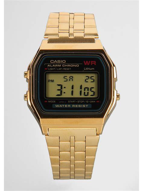 Casio Uhr Gold Herren 2423 by Casio Uhr A159wgea 1ef 2 Bei Snipes Bestellen