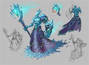 Ice Mage by KhezuG on DeviantArt