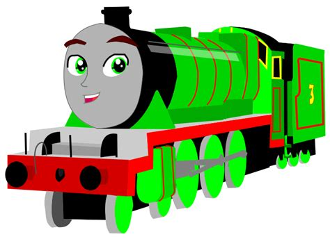 henry the green engine by shawanderson on deviantart