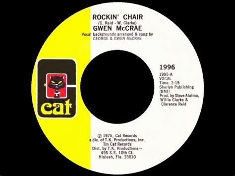 gwen mccrae rockin chair original version musical chairs 1975 tv series mashpedia free