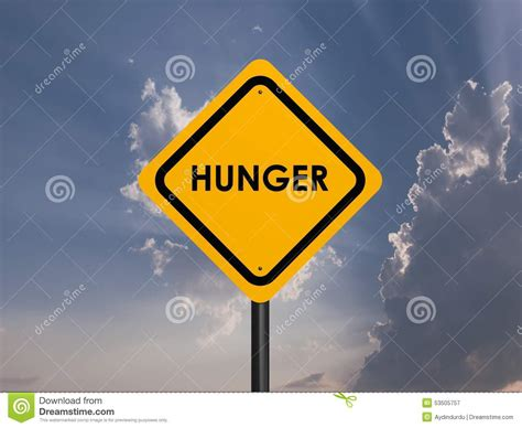 what does the hunger sign hunger signs stock photo image 53505757