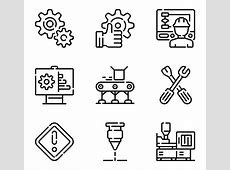 Free Manufacturing Icon Vector 374786 Download