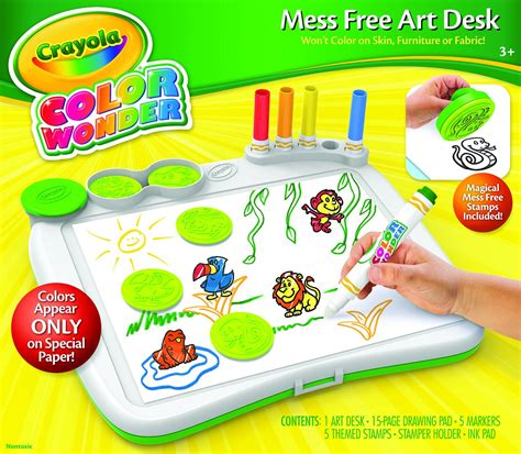 Crayola Color Wonder Art Desk with Stamper Only $11 99