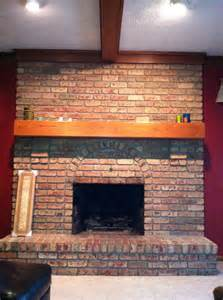 How to Update Red Brick Fireplace Ideas