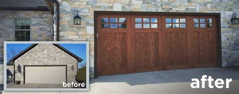 garage door wood look wood garage door archives deluxe door systems