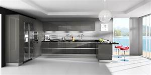 lava grey rta modern kitchen cabinets 1276