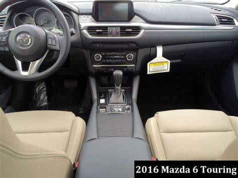 Mazda 6 Interior 2016 by Mazda6 Touring 2015 Vs 2016 Automotive