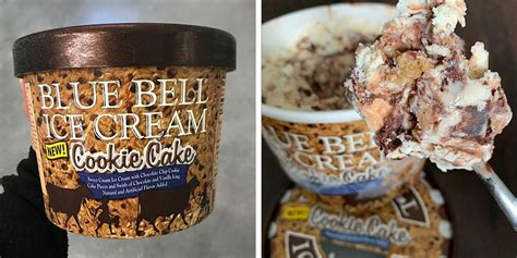 blue bells  cookie cake ice cream   stores