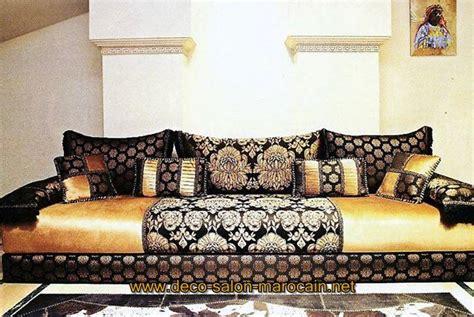 tissu canapé marocain tissus de salon benchrif marocain déco salon marocain