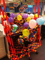 Funny Office Birthday Decoration Ideas