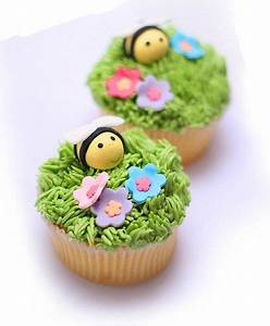 Top 16 Cupcake Decor Design With Spring Flower – Cheap