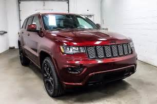 2017 Jeep Grand Cherokee Altitude Red