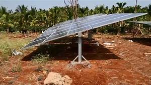 Low Cost Manual Mechanical Solar Tracker For Irrigation