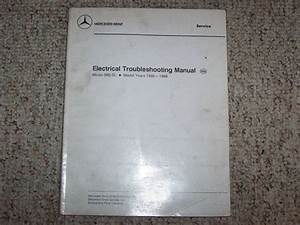 1988 Mercedes Benz 560sl 560 Sl Electrical Wiring Diagram
