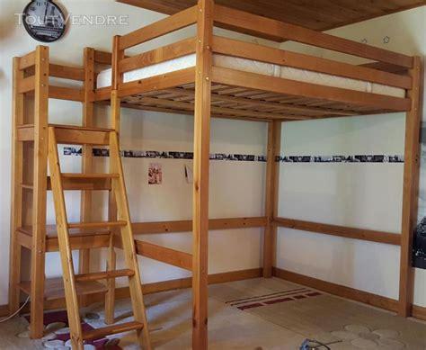 lit mezzanine 2 places avec bureau lit mezzanine bois massif 2 places escalier posot class