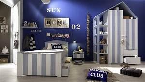 Decoration Chambre Style Marin : inspiration chambre marine ~ Zukunftsfamilie.com Idées de Décoration