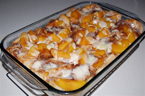Peaches Cream French Toast Cooking Mamas