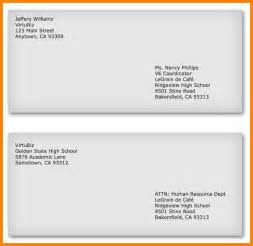 How To Properly Address A Resume Envelope by Addressing An Envelope For A Business Letter Cover
