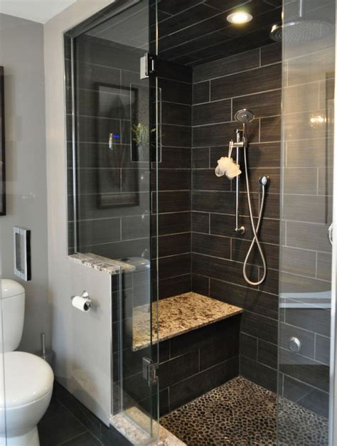 ideas  slate tile bathrooms  pinterest