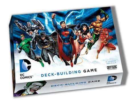 dc deck building expansion date dc comics deck building cryptozoic entertainment