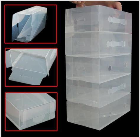 clear stackable plastic men shoe storage boxes  gjh  dhgatecom