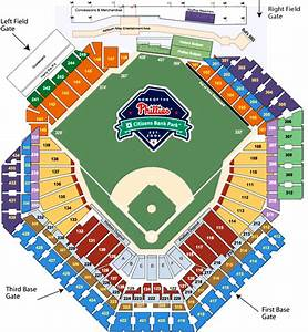 Citizens Bank Park Seating Diagram