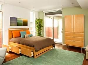 Lit Petit Espace : rangement petit espace chambre 20171018170721 ~ Premium-room.com Idées de Décoration