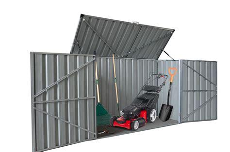 mower storage shed mower storage sheds