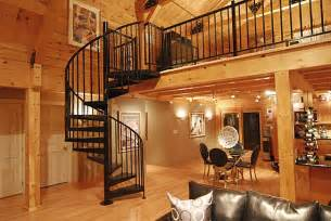 Painting Home Interior Cost Interior Spiral Stair In A Log Timber Frame Home Neutrals Staircases Spirals