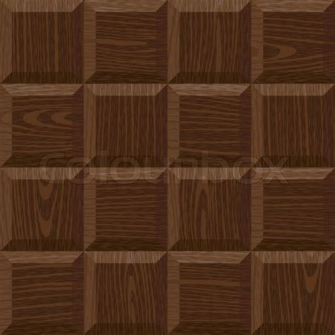 seamless  dark oak square parquet panel texture stock