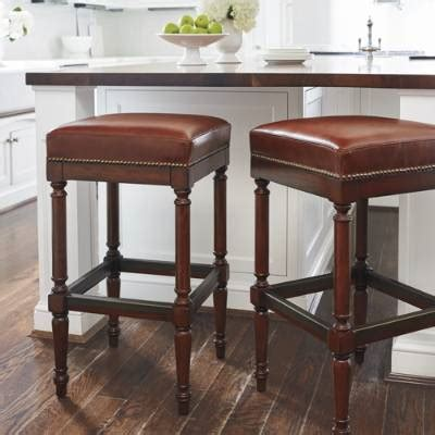 bar stools backless raffles backless bar and counter stools frontgate 1477