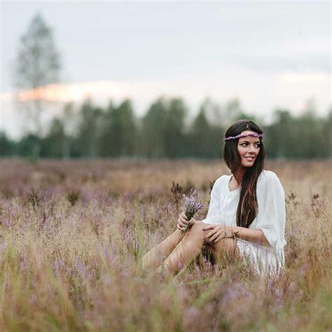 fotoshooting ideen frau heideromantik bohemian portr 228 t ideen fotos frau fotografie